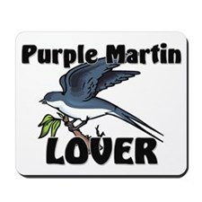 Purple Martin Lover Mousepad