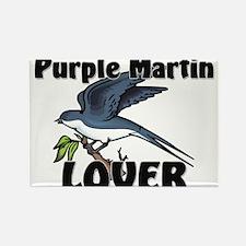 Purple Martin Lover Rectangle Magnet
