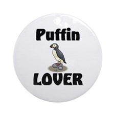Puffin Lover Ornament (Round)
