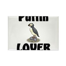 Puffin Lover Rectangle Magnet