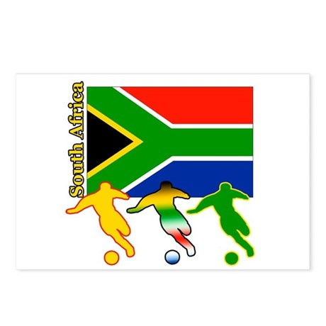 South Africa Soccer Postcards (Package of 8)