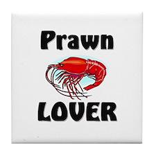 Prawn Lover Tile Coaster