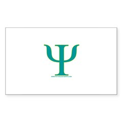 Psy Rectangle Sticker 10 pk)