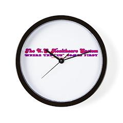 US Healthcare Wall Clock