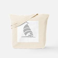 Sailboat Silhouette Tote Bag