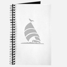 Sailboat Silhouette Journal