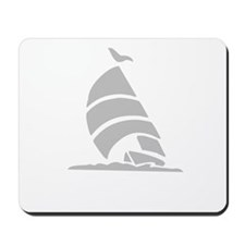 Sailboat Silhouette Mousepad