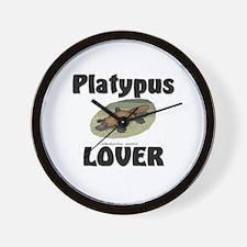 Platypus Lover Wall Clock