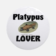 Platypus Lover Ornament (Round)