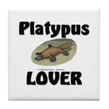 Platypus Lover Tile Coaster