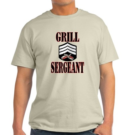 Grill Sergeant Light T-Shirt