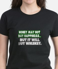 """Money, Happiness, Whiskey"" Tee"