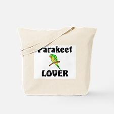 Parakeet Lover Tote Bag