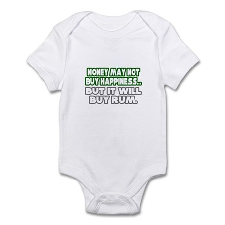 """Money, Happiness, Rum"" Infant Bodysuit"