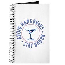 Avoid Hangovers - Journal