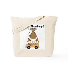 Class Monkey Tote Bag