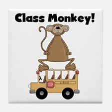 Class Monkey Tile Coaster