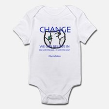Change that... DIAPER? Infant Bodysuit