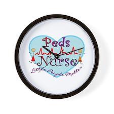 Cool Pediatric nurses Wall Clock