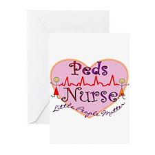 Unique Pediatric nurse Greeting Cards (Pk of 10)