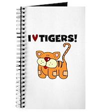 I Love Tigers Journal