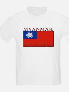 Myanmar Kids T-Shirt