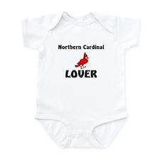 Northern Cardinal Lover Infant Bodysuit