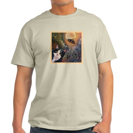 Tuxedo Cat, Moonlight, and Mo Light T-Shirt