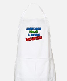 A man who is losing his hair BBQ Apron