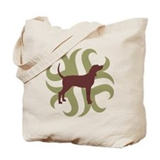 Coonhound Tribal Tote Bag
