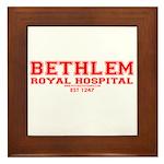 Bethlam Royal Hospital Framed Tile