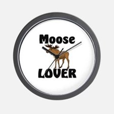 Moose Lover Wall Clock