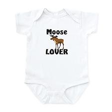 Moose Lover Infant Bodysuit