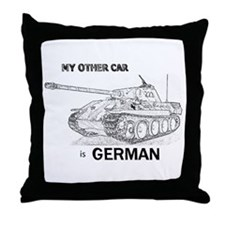 Unique Wehrmacht Throw Pillow