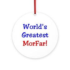 World's Greatest Morfar Keepsake (Round)
