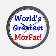World's Greatest Morfar Wall Clock