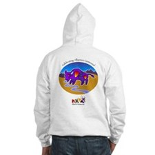Alberta Centennial Buffalo Hoodie Sweatshirt