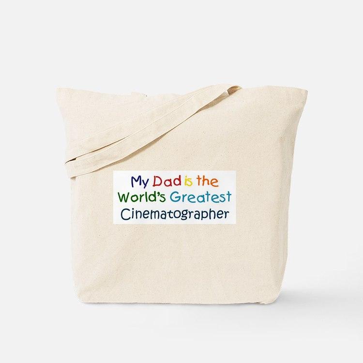 Greatest Cinematographer Tote Bag
