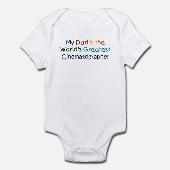 Greatest Cinematographer Infant Bodysuit