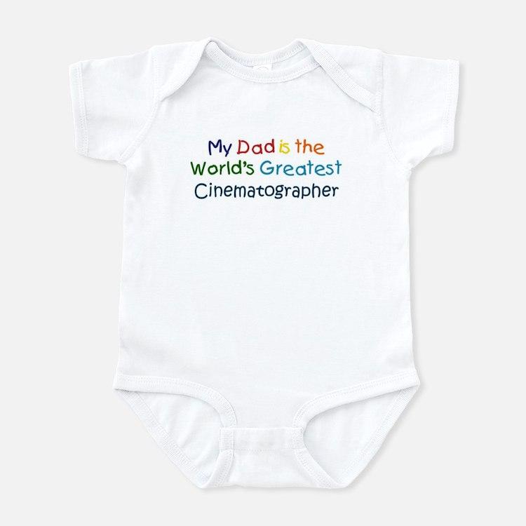 Greatest Cinematographer Infant Bodysuit