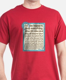 Farrier's Lament T-Shirt