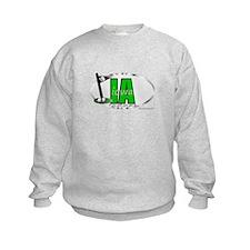 Cool Indiana mom Sweatshirt