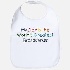 Greatest Broadcaster Bib