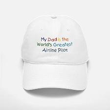 Greatest Airline Pilot Baseball Baseball Cap