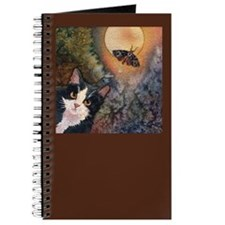 Tuxedo Cat, Moonlight, and Mo Journal