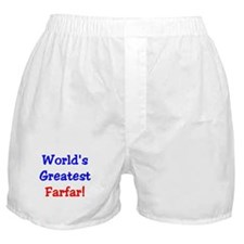 World's Greatest Farfar Boxer Shorts