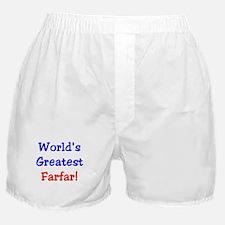 World's Greatest Farfar Boxer Shorts
