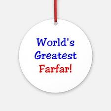 World's Greatest Farfar Keepsake (Round)