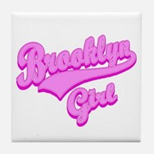 Brooklyn Girl Tile Coaster