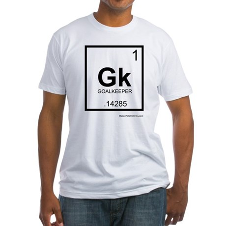 Goalie Fitted T-Shirt
